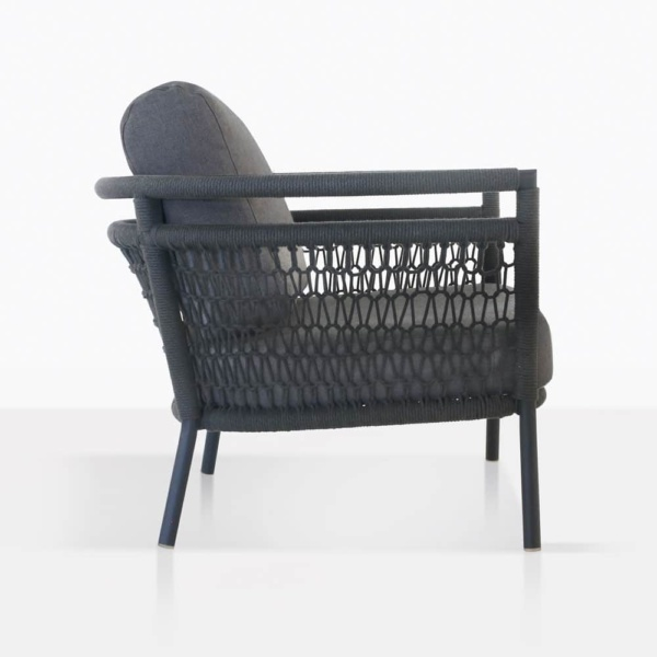 Usso Outdoor Relaxing Chair Side View
