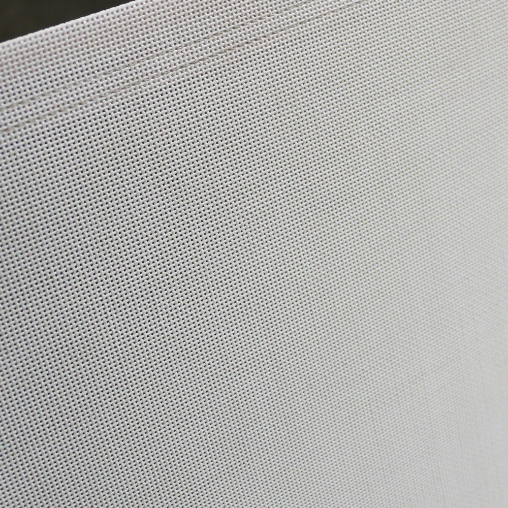 classic batyline stacking chair in white close up view