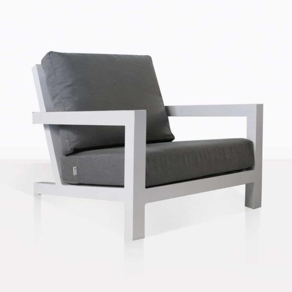 granada club chair in white