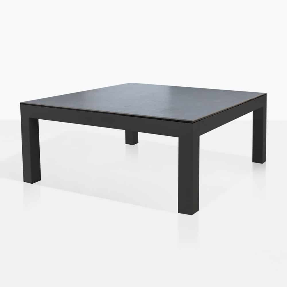 Glass Coffee Tables Nz: Granada Outdoor Aluminum Coffee Table (Grey)