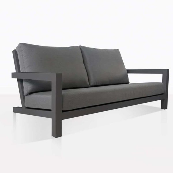 Black Granada Loveseat