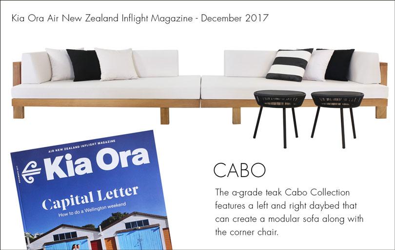 Kia Ora Magazine Advertisement