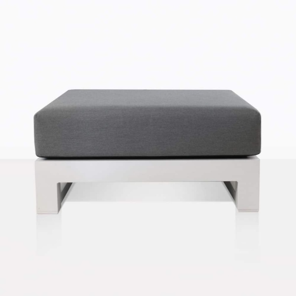 South Bay Aluminium - ottoman white