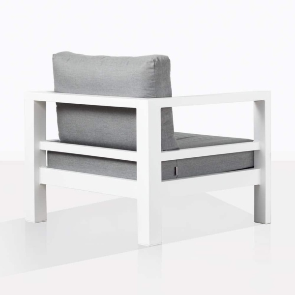Amazon White Aluminium Chair Back
