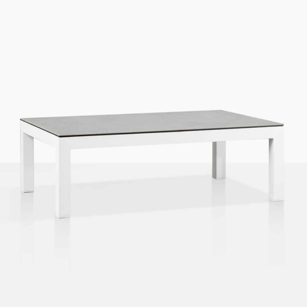 Amazon White Aluminum Coffee Table