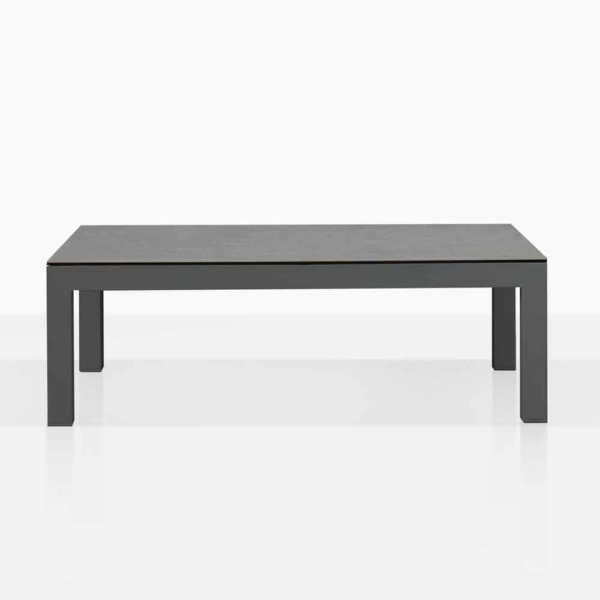 Amazon Black Alumunum Outdoor Coffee Table