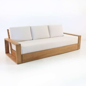 kuba outdoor teak sofa