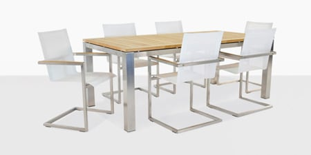Stainless Steel Dining Furniture