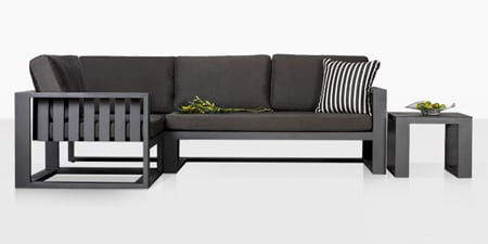 Alumninum Outdoor Sofa