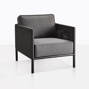 Bahama Wicker And Aluminum Club Chair