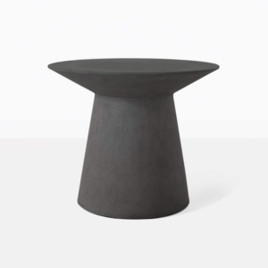 Holly Concrete Resin Round Side TAble
