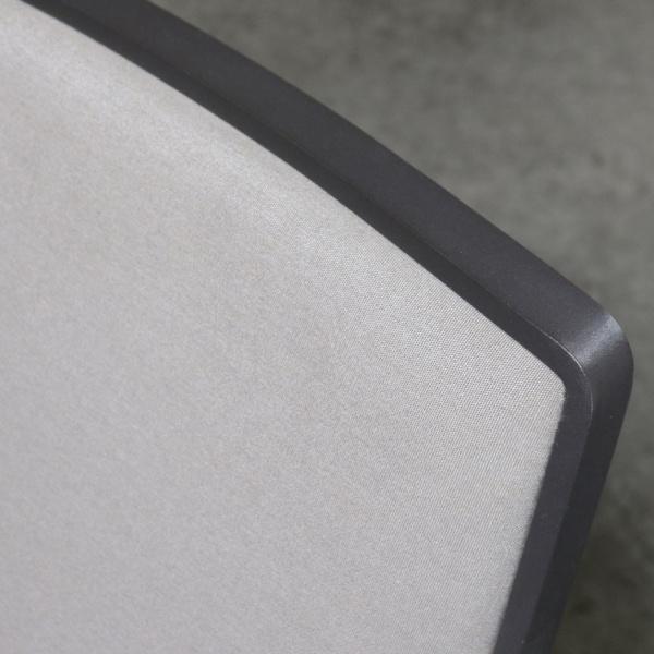 Panama aluminium grey dining chair