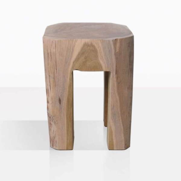 Banzi Organic Teak Side Table