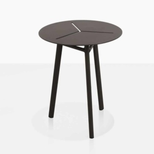 lona aluminum accent table angle