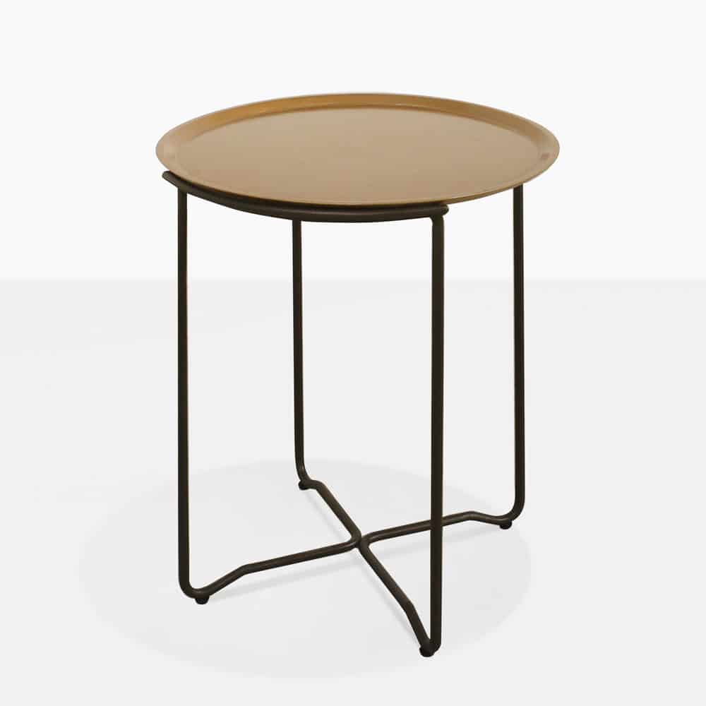 Metell accent table outdoor furniture design warehouse nz