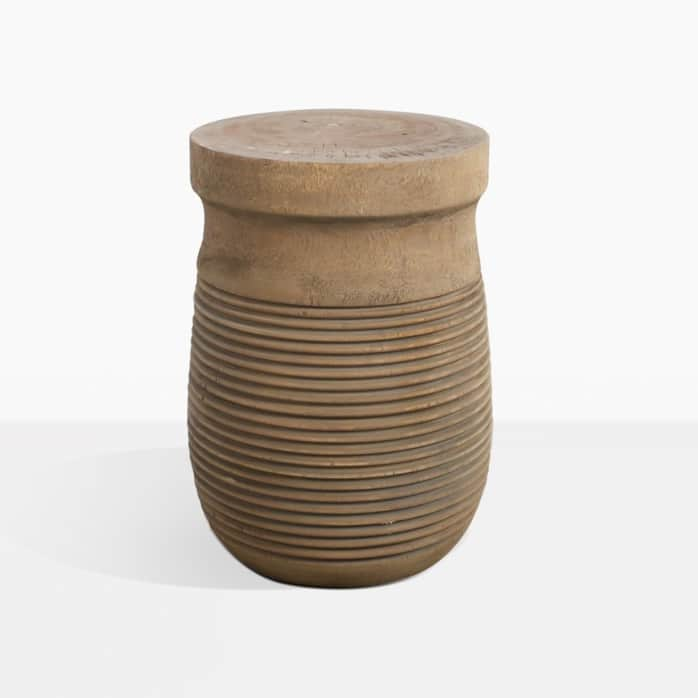 Tola Round Teak Side Table