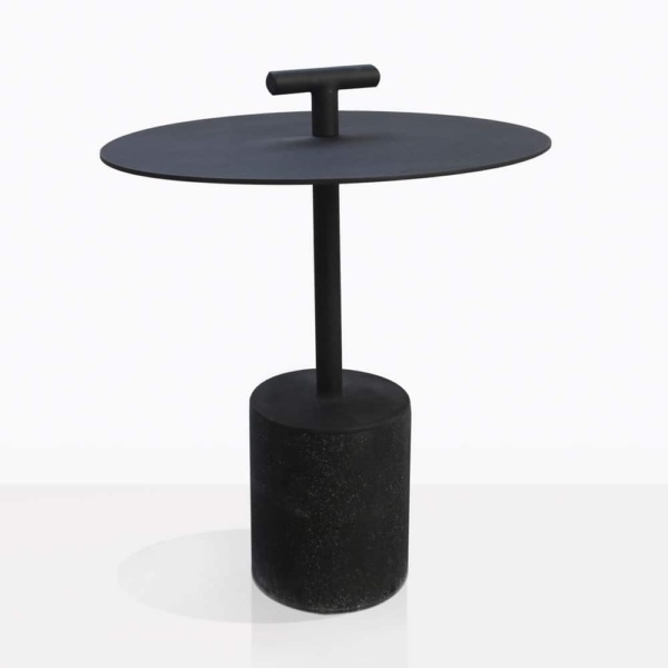 Flight Concrete And Steel Side Table