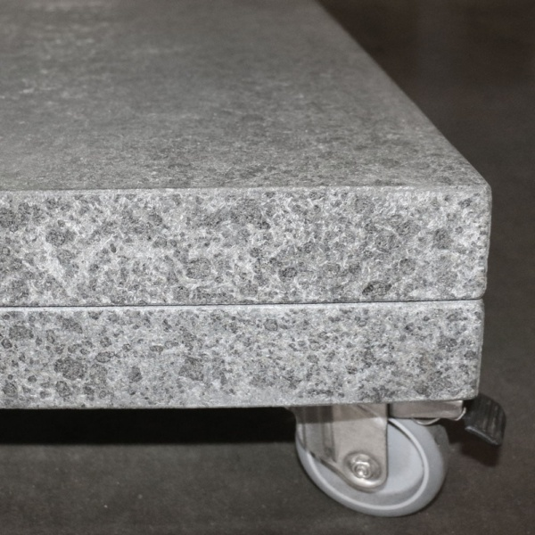 Kingston Granite Umbrella Base Closeup