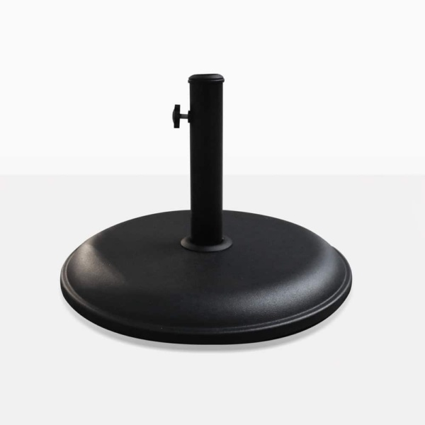 Masonry Round Concrete Outdoor Umbrella Stand