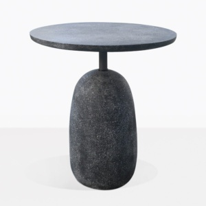 Mossimo Black Concrete And Steel Side Table