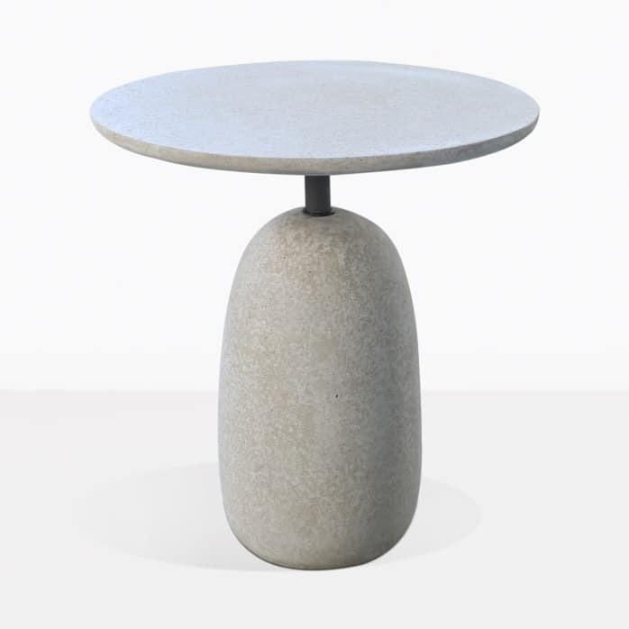 Mossimo Round Concrete And Steel Side Table