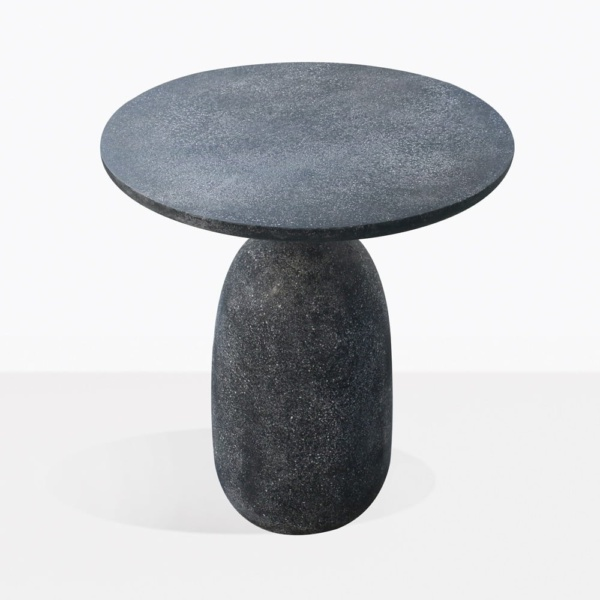 Mossimo Black Concrete And Steel Side Tabletop