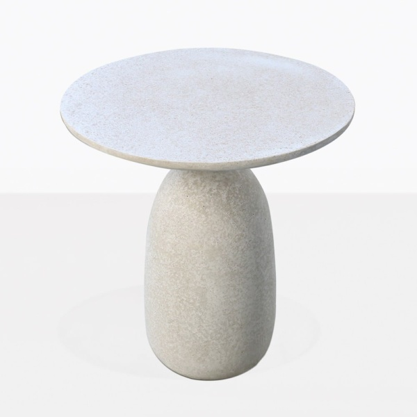 Mossimo Round Concrete And Steel Side Tabletop