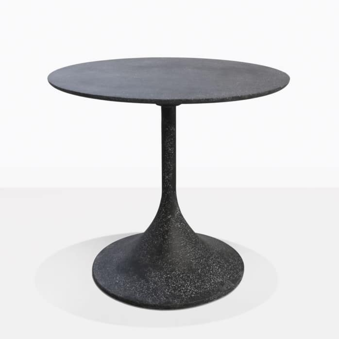 Orgain Black Concrete Dining Table