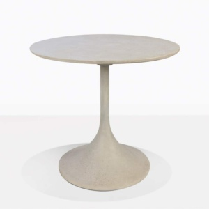 Orgain Concrete Round Bistro Dining Table For Two