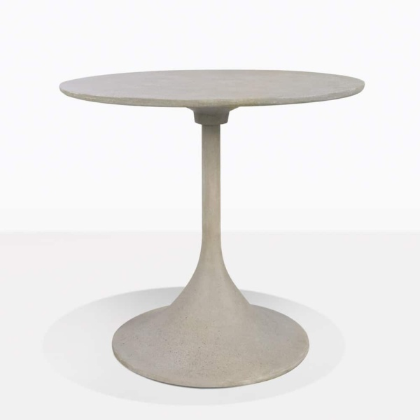 Orgain Round Concrete Dining Table For Two
