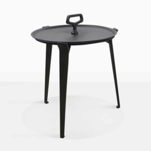 Peppi Aluminum Accent Table