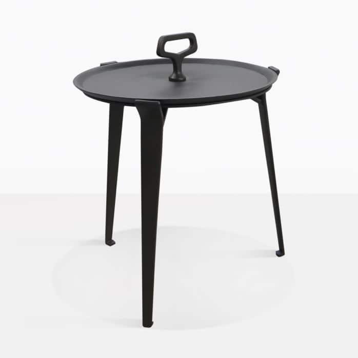 Peppi Aluminum Accent Table