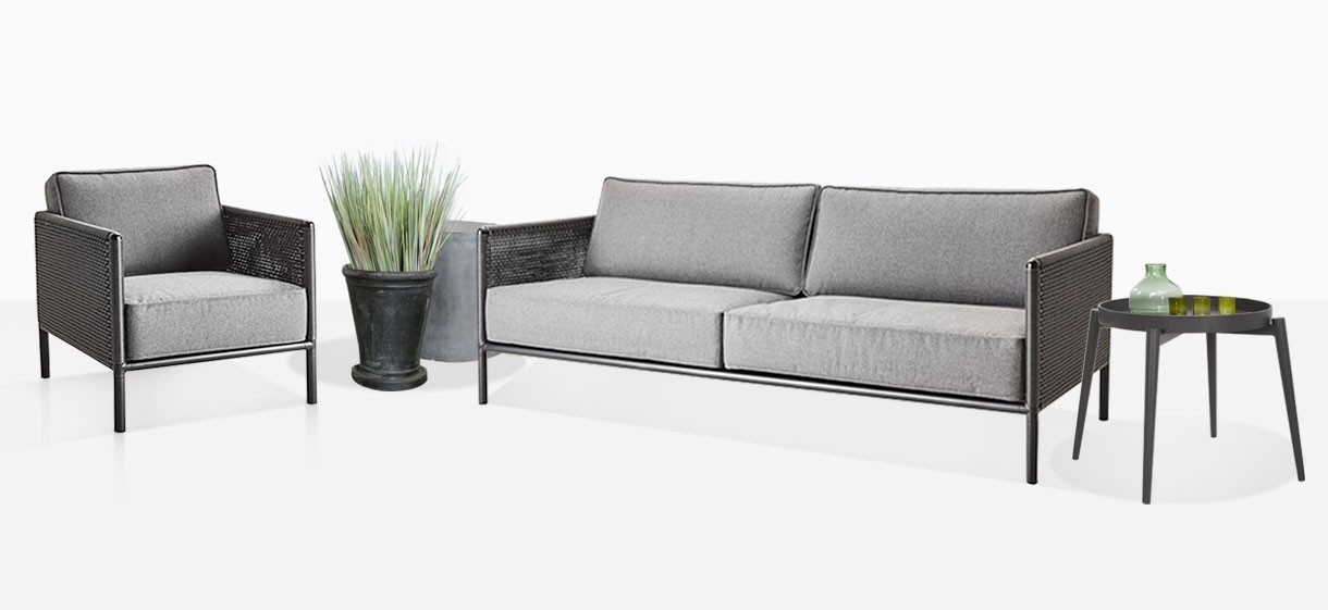 Bahama Outdoor Club Chair And Sofa
