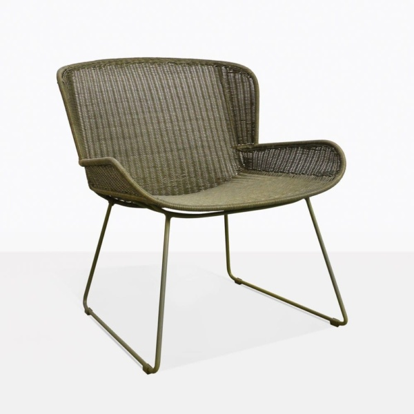 Nairboi Pure Green Wicker Relaxing Chair