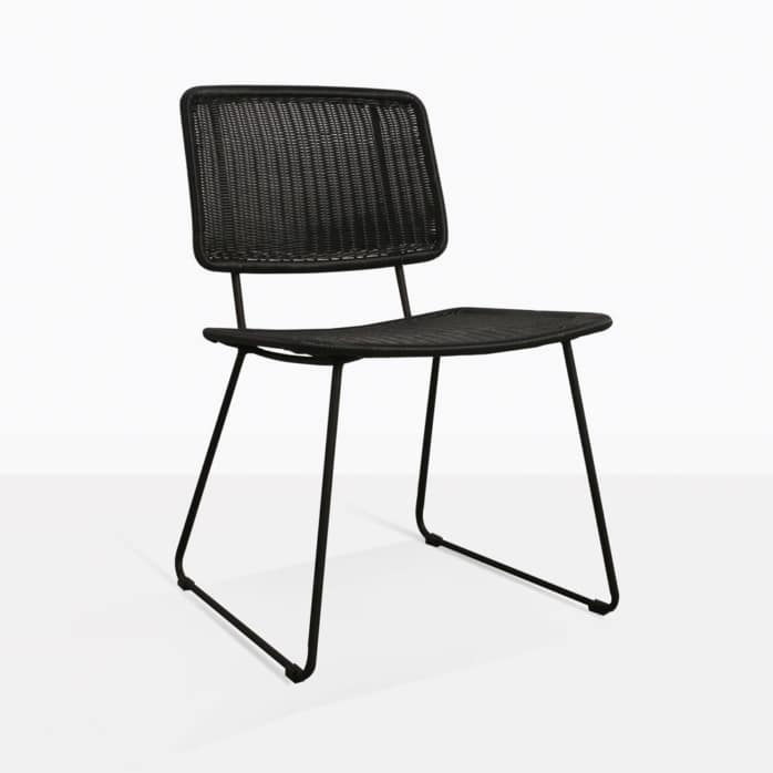 Polly Modern Wicker Dining Chair