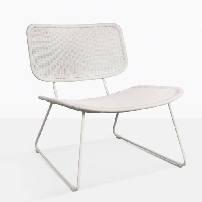 Polly Low Wicker Outdoor Chair