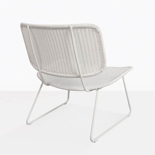 Polly Wicker Relaxing Chair Back Design