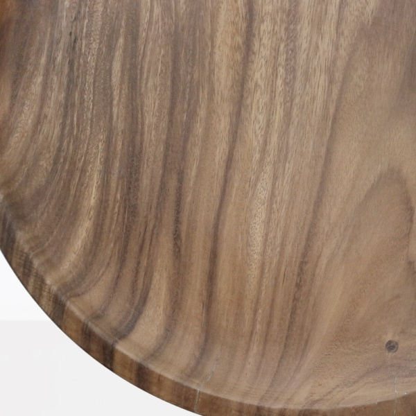 African Teak Coffee Table Closeup