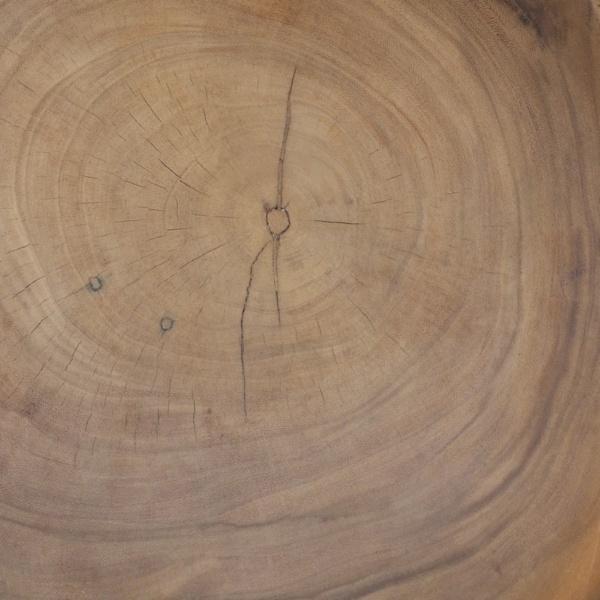 African Teak Coffee Table Closeup Of Wood Grain