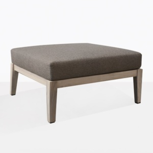 Masello Teak Ottoman With Cushion