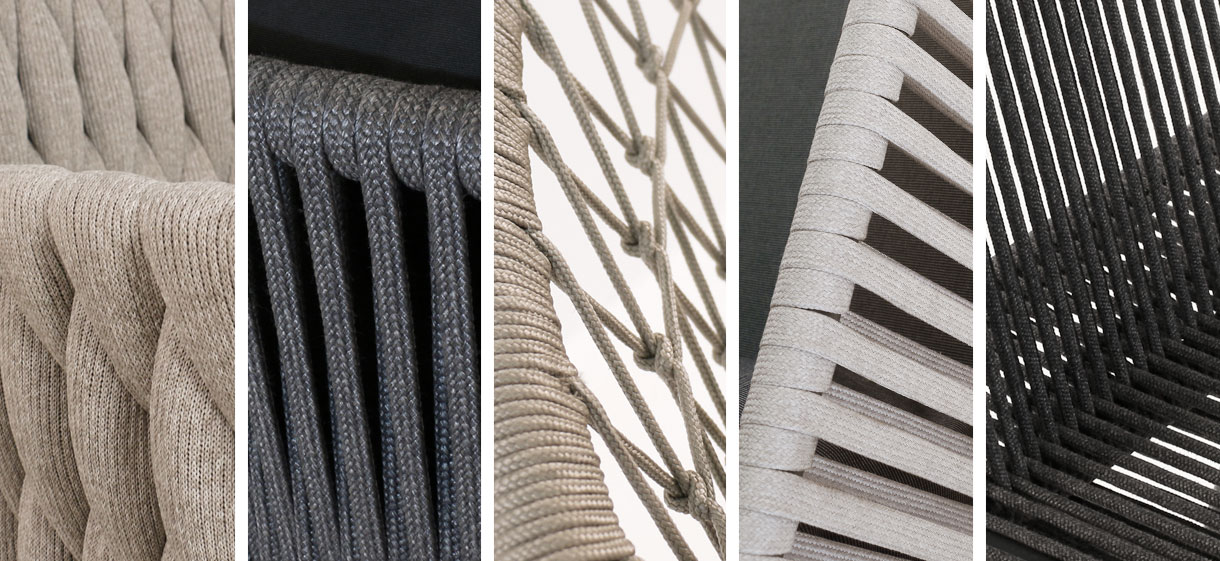 Rope Strands Furniture Closeups
