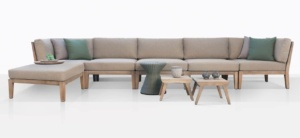 Gazzoni Teak Sectional Sofa