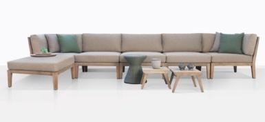 Gazzoni Teak Sectional Sofa