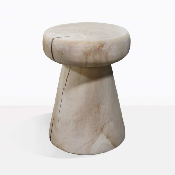 Lolli Raw Teak Side Table