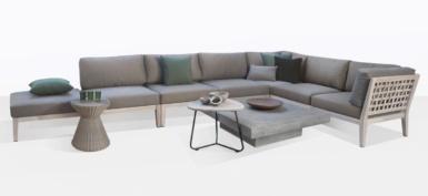 Masello Woven Teak Outdoor Furniture Collection