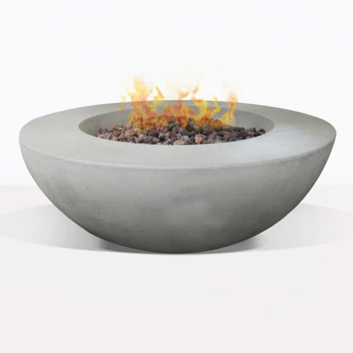 Round Concrete Outdoor Firepit
