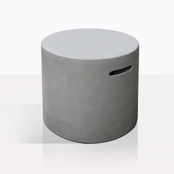 Round Concrete Gas Propane Tank Cover