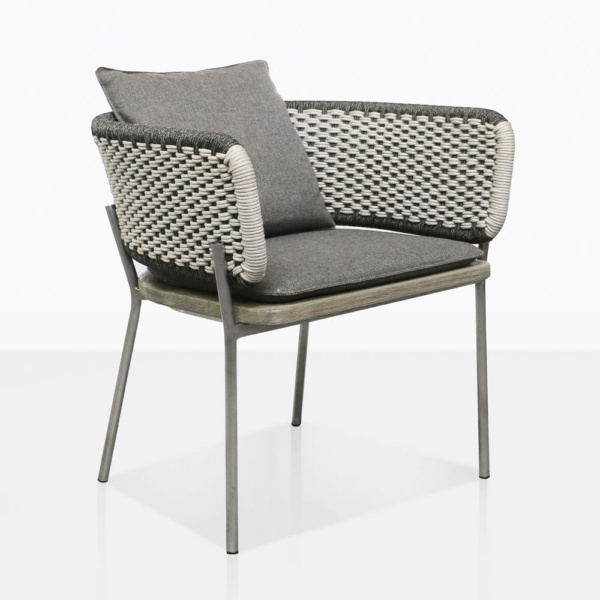 Studio Two Tone Rope Dining Chair
