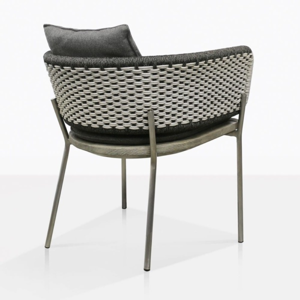 Studio Two Tone Rope Dining Chair Back