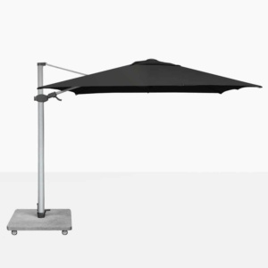 Antego Black Cantilever Patio Sun Umbrella